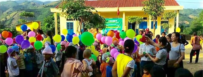 Vietnam school rebuilding celebration